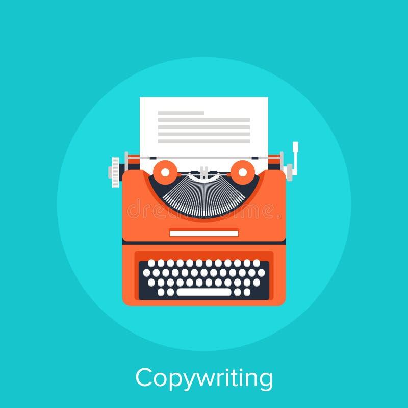 Copywriting stock illustration