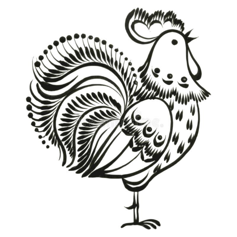Coq illustration libre de droits