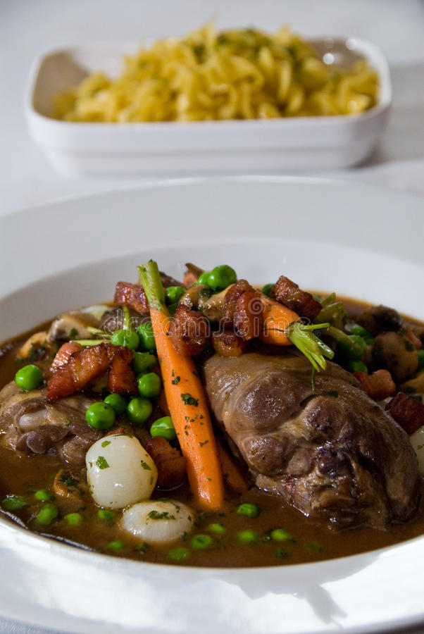 Free Coq Au Vin Stock Photography - 12260132