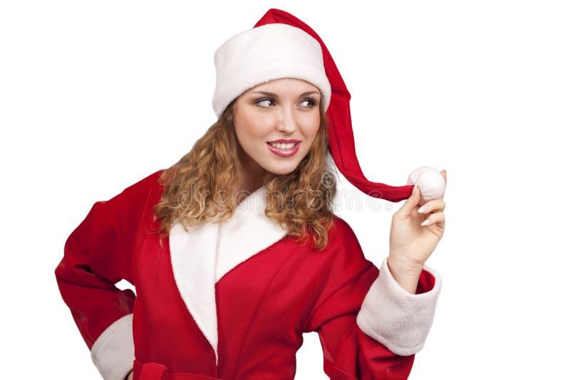 Download Coquette Santa stock image. Image of beauty, coquet, coquette - 17099051