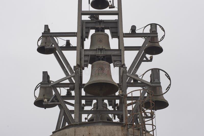 20-03-2019 Coquimbo, Cile Il terzo incrocio di millennio è un monumento commemorativo religioso fotografia stock libera da diritti