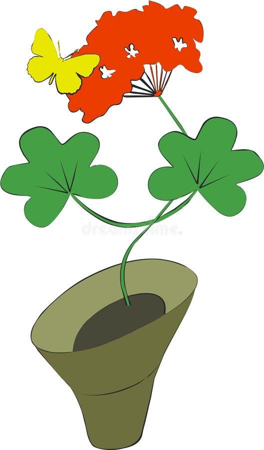 Cor 08 da flor ilustração royalty free