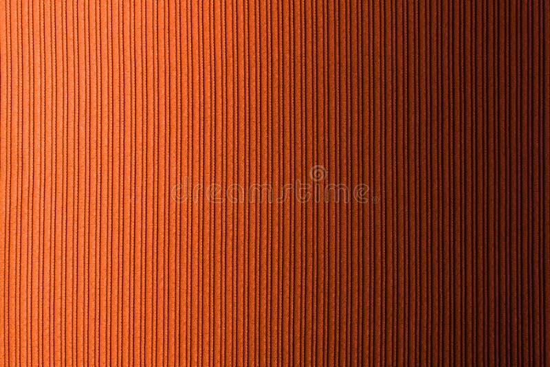 Cor alaranjada marrom do fundo decorativo, inclinação horizontal da textura listrada wallpaper Arte Projeto imagem de stock royalty free