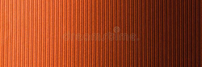 Cor alaranjada marrom do fundo decorativo, inclina??o horizontal da textura listrada wallpaper Arte Projeto foto de stock royalty free