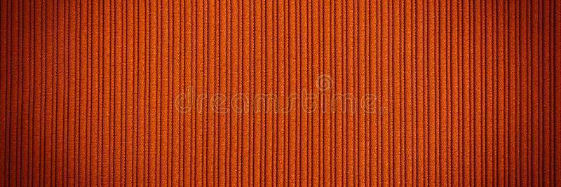 Cor alaranjada marrom do fundo decorativo, inclina??o listrado do vignetting da textura wallpaper Arte Projeto foto de stock