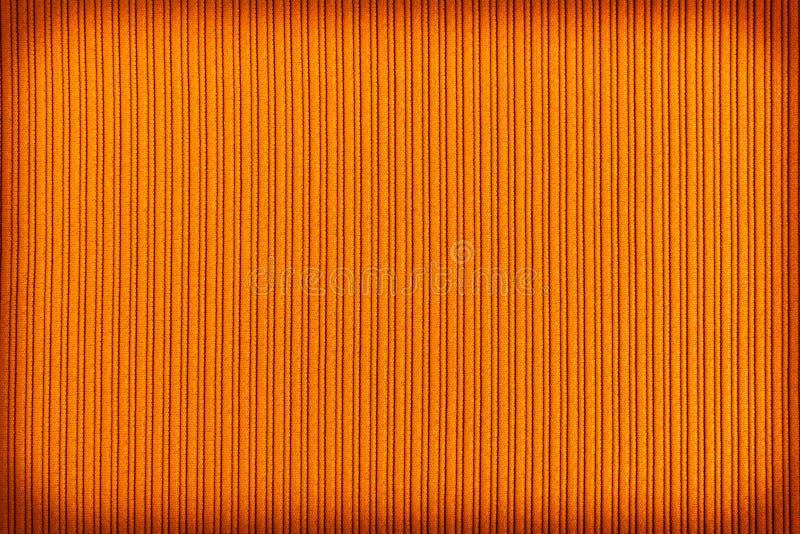 Cor alaranjada marrom do fundo decorativo, inclina??o listrado do vignetting da textura wallpaper Arte Projeto fotografia de stock royalty free