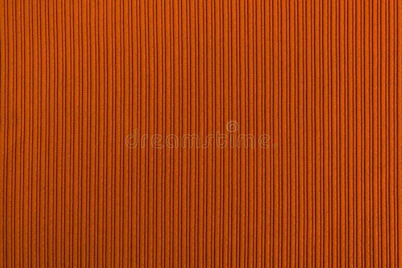 Cor alaranjada marrom do fundo decorativo, textura listrada wallpaper Arte Projeto foto de stock