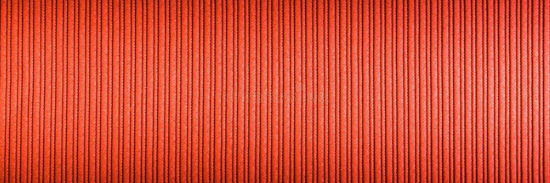 Cor alaranjada vermelha do fundo decorativo, inclina??o superior e mais baixo da textura listrada wallpaper Arte Projeto fotografia de stock royalty free