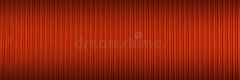 Cor alaranjada vermelha do fundo decorativo, inclina??o superior e mais baixo da textura listrada wallpaper Arte Projeto imagens de stock