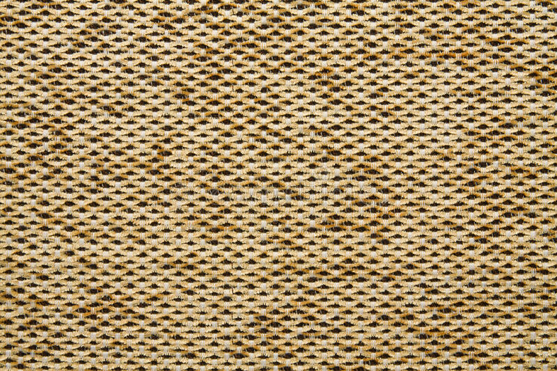 Cor amarela da terra de Anemon Kombin 02 da textura da tela de matéria têxtil fotografia de stock royalty free