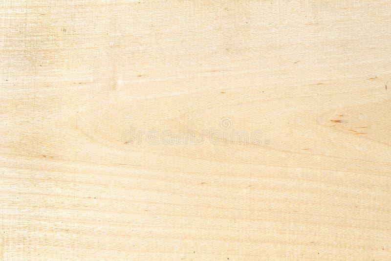 Cor amarela de madeira clara natural da textura Placa do vidoeiro da textura da madeira maciça ?rvore do fundo fotografia de stock royalty free