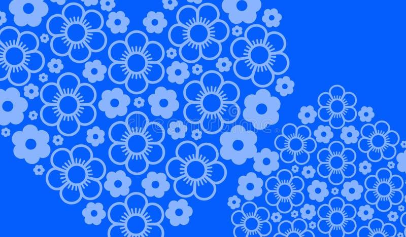 Cor azul do fundo belamente imagens de stock