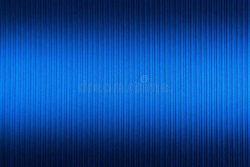 Cor azul do fundo decorativo, inclina??o superior e mais baixo da textura listrada wallpaper Arte Projeto imagem de stock