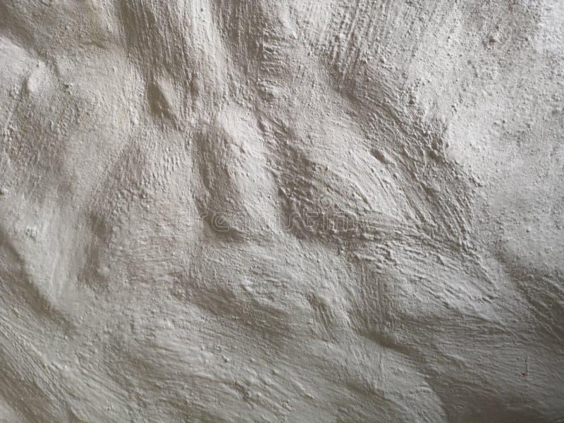 Cor branca de parede de concreto em branco para fundo de textura fotos de stock royalty free