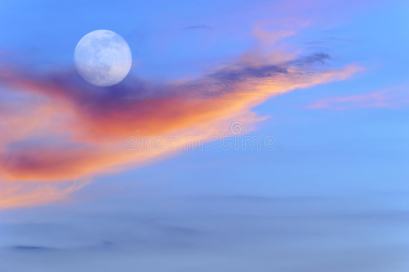 A cor da natureza fantástica fotografia de stock
