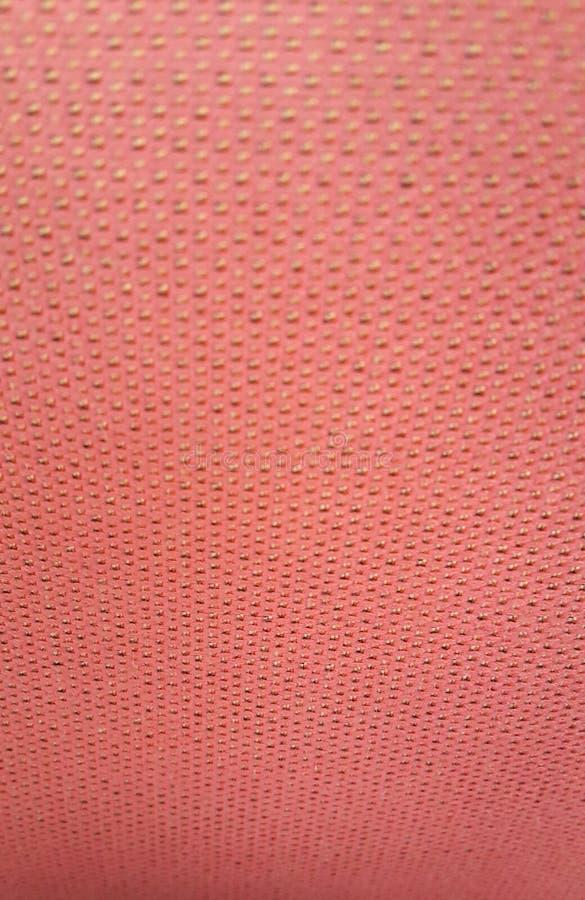 A cor da toalha de mesa é alaranjada fotografia de stock royalty free