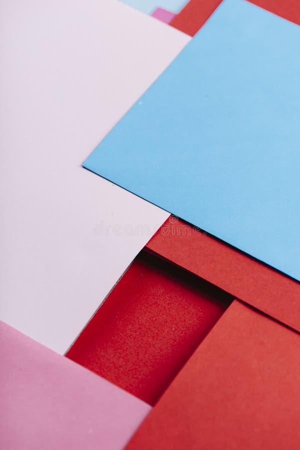 Cor de fundo geométrica abstrata Geometria colorido de Pastel layout mínimo Design linear de wallpaper de arte pop exclusiva fotografia de stock royalty free