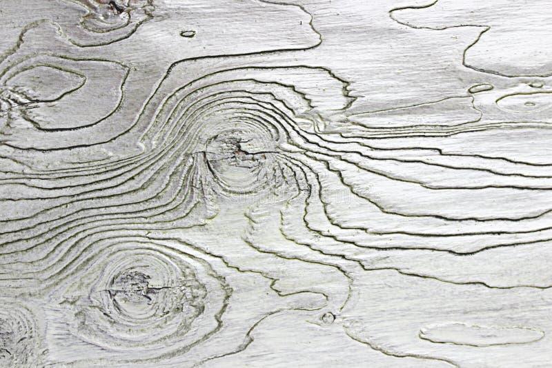 cor de madeira do branco do fundo da textura fotografia de stock royalty free