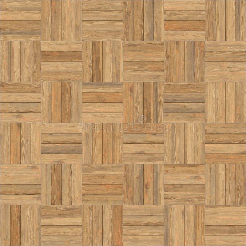 Cor de madeira sem emenda da areia da xadrez da textura do parquet fotos de stock royalty free