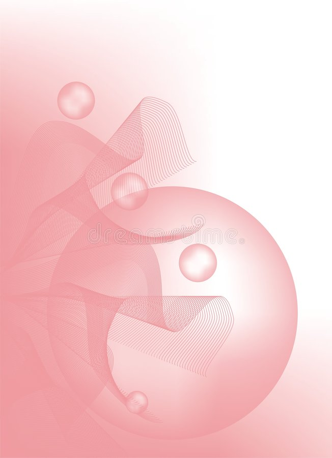 Cor-de-rosa delicada   foto de stock