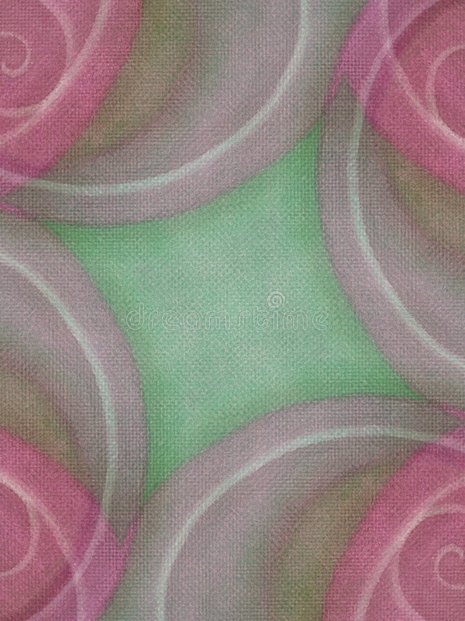 Cor-de-rosa Earthy dos fundos da lona fotos de stock