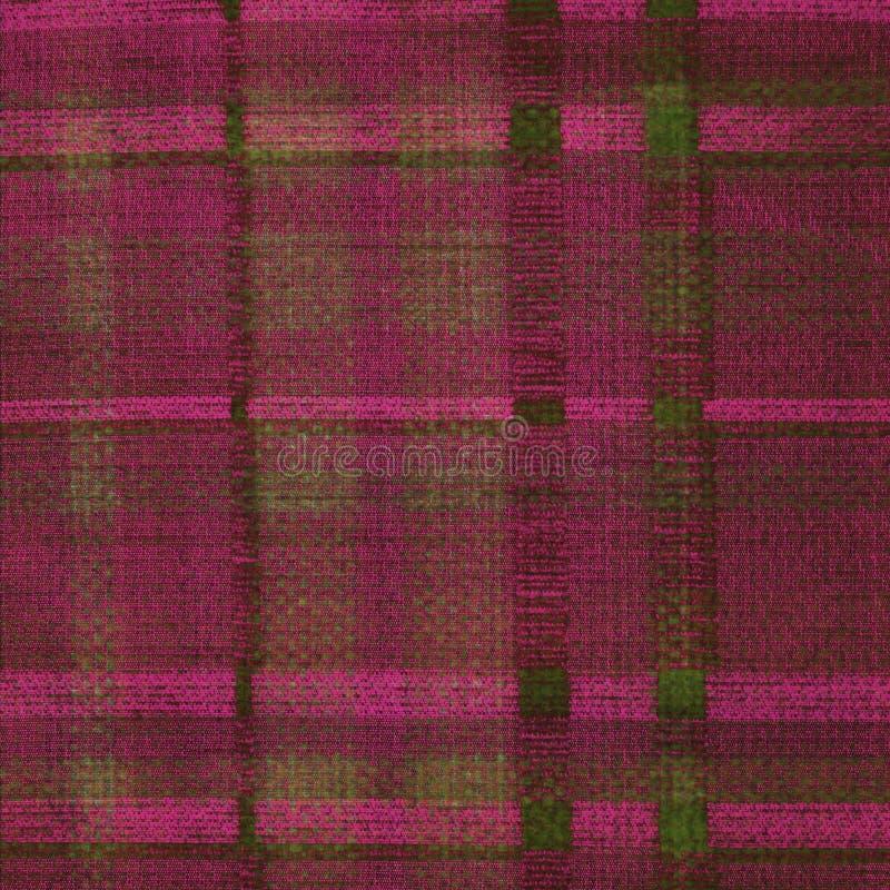 Cor-de-rosa magenta e fundo verde bruto ilustração do vetor