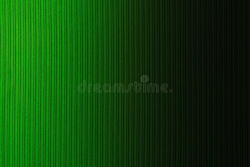 Cor de verde decorativa do fundo, textura listrada, inclinação horizontal wallpaper Arte Projeto imagem de stock