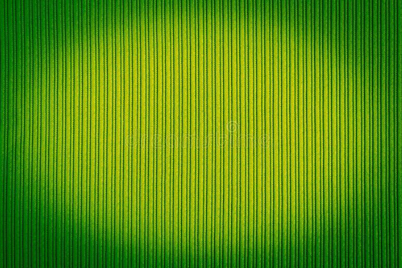 Cor de verde decorativa do fundo, textura listrada, inclinação do vignetting wallpaper Arte Projeto imagem de stock