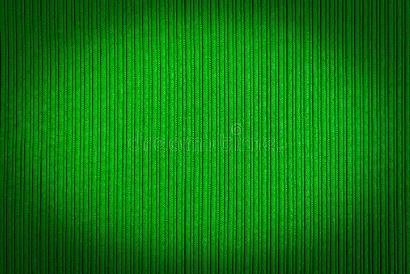 Cor de verde decorativa do fundo, textura listrada, inclinação do vignetting wallpaper Arte Projeto imagens de stock royalty free