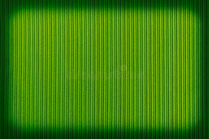 Cor de verde decorativa do fundo, textura listrada, inclinação do vignetting wallpaper Arte Projeto fotos de stock