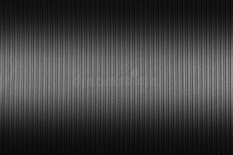 Cor decorativa do preto do fundo, a branca, inclinação superior e mais baixo da textura listrada wallpaper Arte Projeto fotos de stock