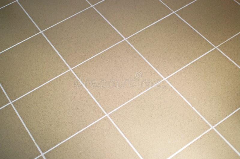 Cor do marrom do assoalho de telha cerâmica fotografia de stock