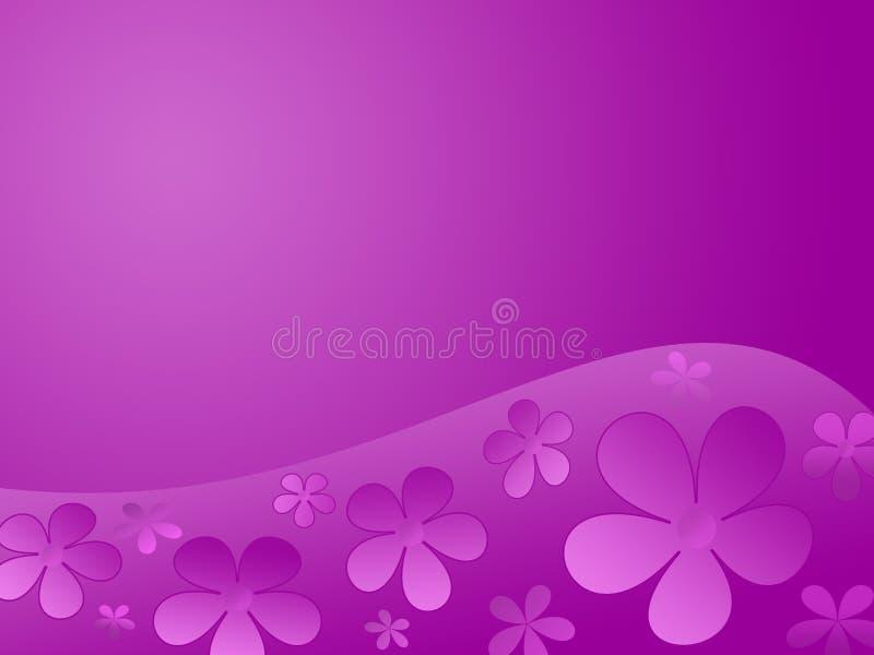 A cor floresce o fundo ilustração do vetor