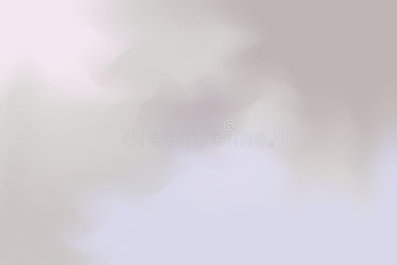 A cor macia roxa cor-de-rosa cinzenta misturou o sumário pastel da arte da pintura do fundo, papel de parede colorido da arte ilustração royalty free