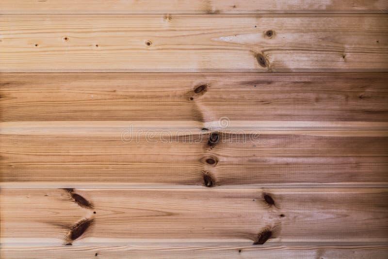 A cor natural de placas de madeira unpainted foto de stock
