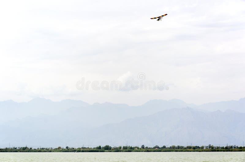 A cor ostenta aviões foto de stock