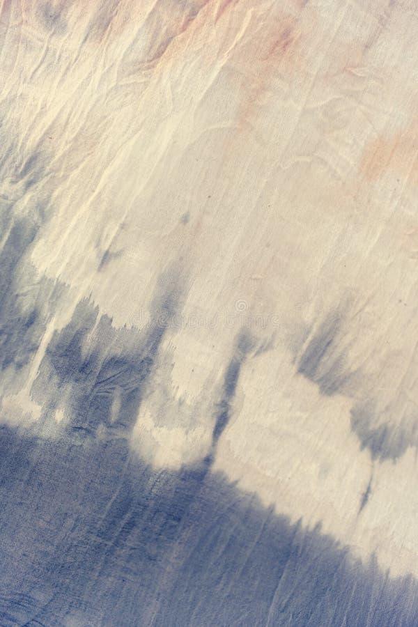 Cor pastel macia da matéria têxtil da tintura do laço imagem de stock