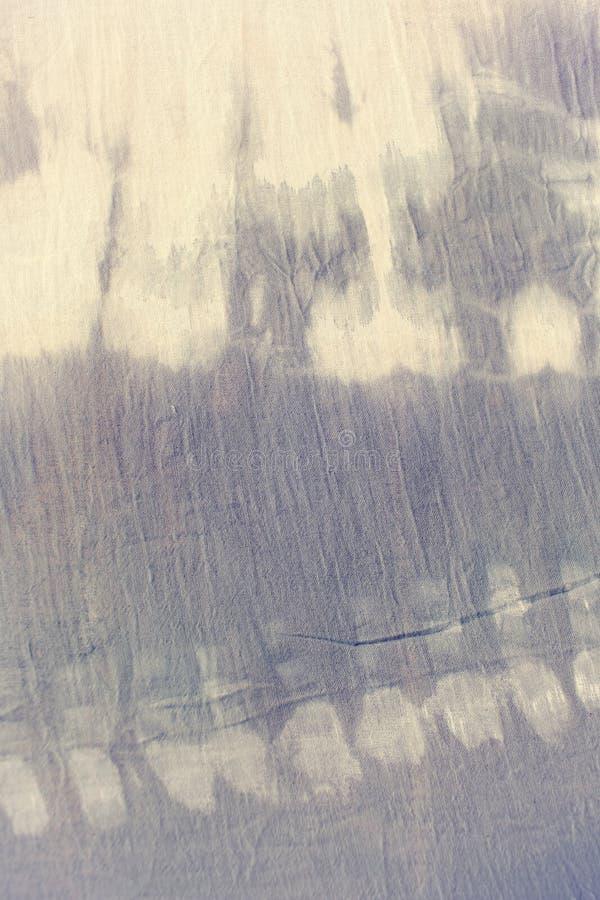 Cor pastel macia da matéria têxtil da tintura do laço foto de stock