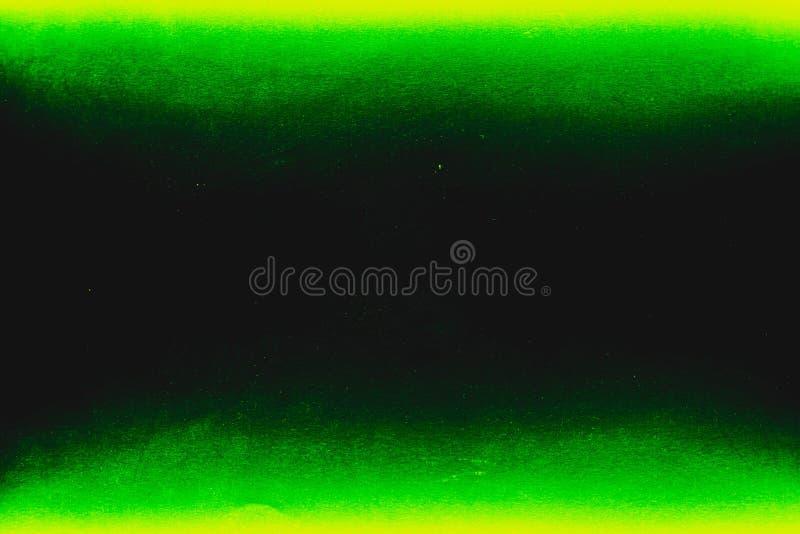 Cor preta, verde e amarela consistir de duas cores do fundo imagem de stock
