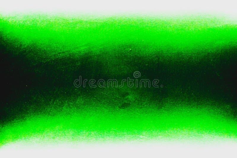 Cor preta, verde e branca consistir de duas cores do fundo imagens de stock