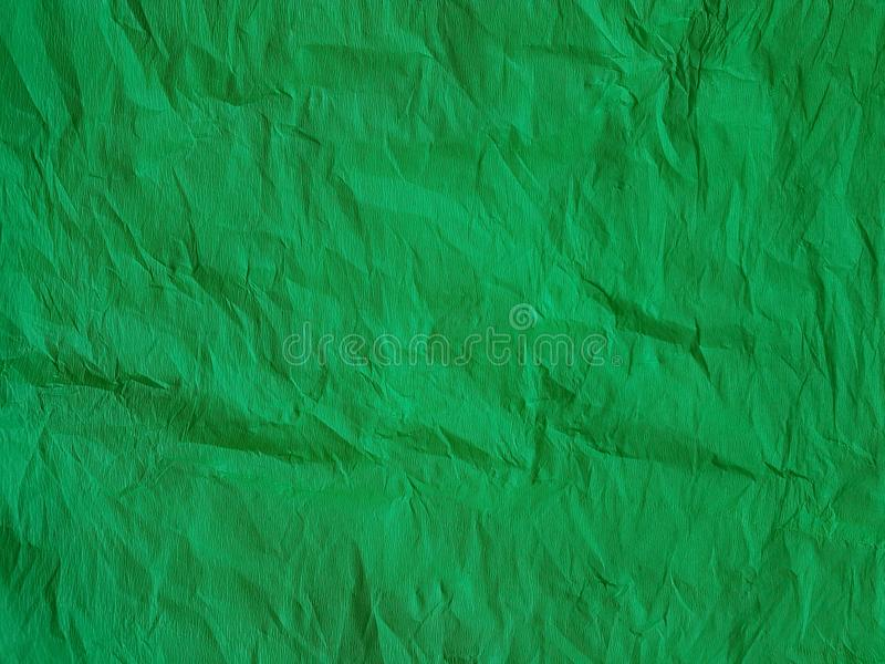 Cor vívida vazia das folhas vazias da superfície da seda do fundo do papel verde imagem de stock royalty free