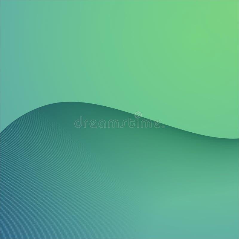 Cor verde do fundo abstrato do vetor ilustração royalty free