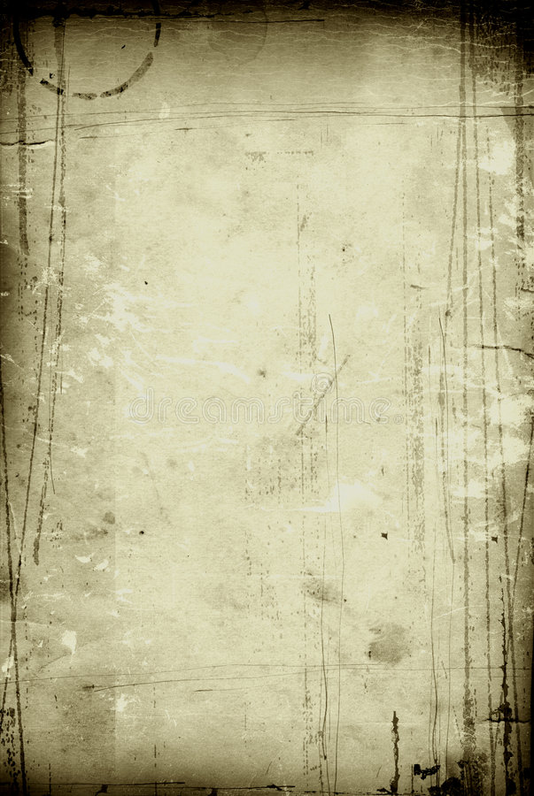 Cor verde-oliva de papel do vintage fotografia de stock