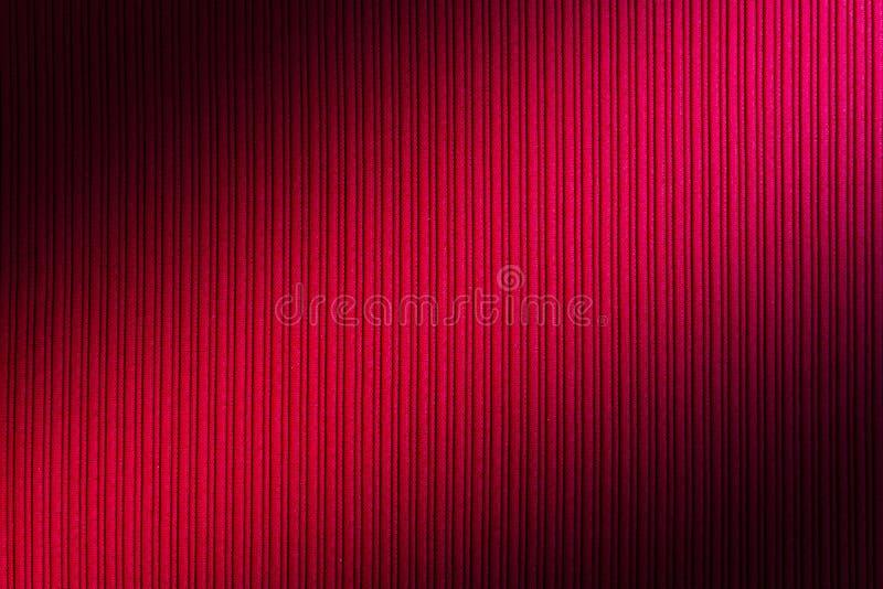 Cor vermelha do fundo decorativo, inclinação diagonal da textura listrada wallpaper Arte Projeto fotos de stock