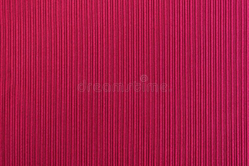 Cor vermelha do fundo decorativo, textura listrada wallpaper Arte Projeto foto de stock