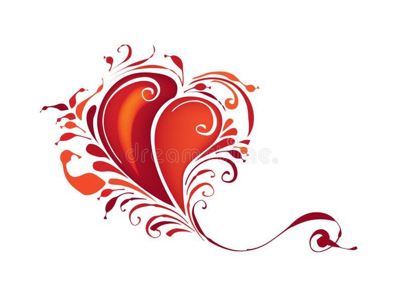 Coração ilustração royalty free