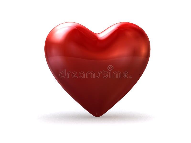 coração 3d ilustração royalty free