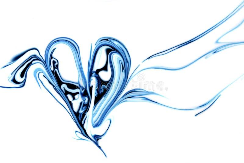 Coração abstrato ilustração royalty free