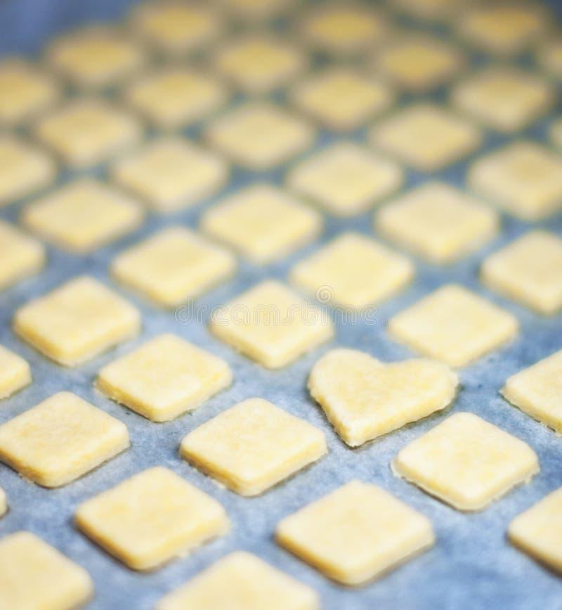 Coração da pastelaria fotos de stock