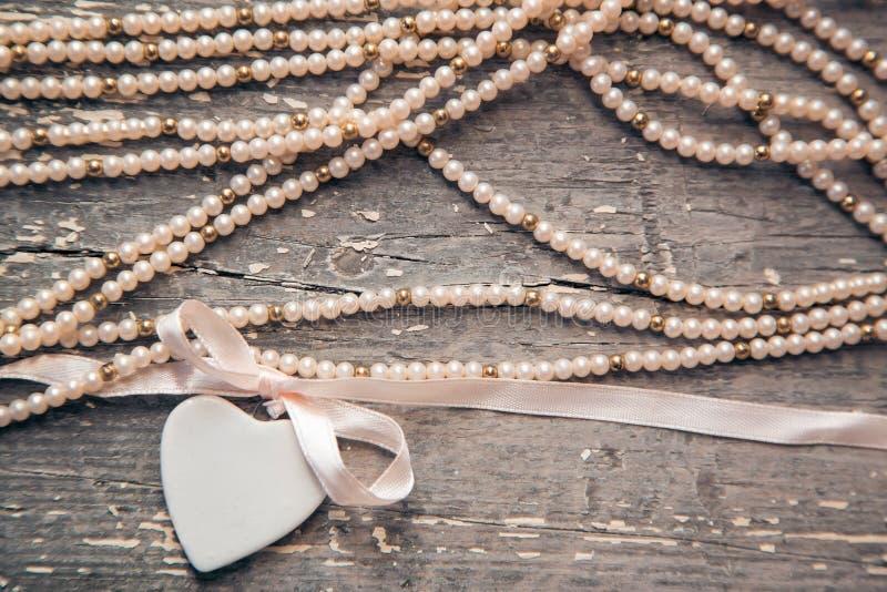 Coração da porcelana imagens de stock royalty free